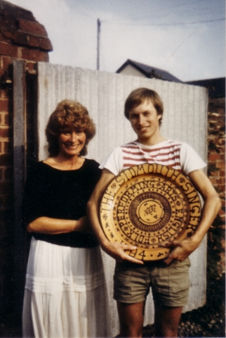 Andy Turner &amp; Shirley Collins - Sidmouth Singer competition 1984